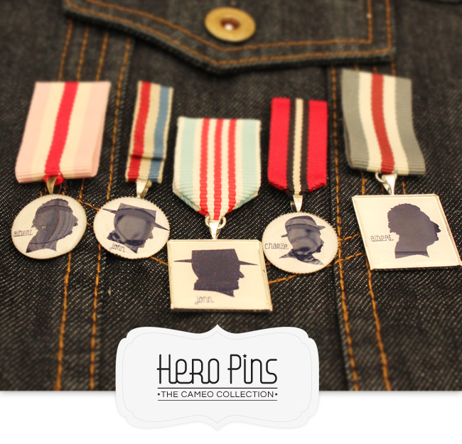 Pretty Pretty Hero Pins