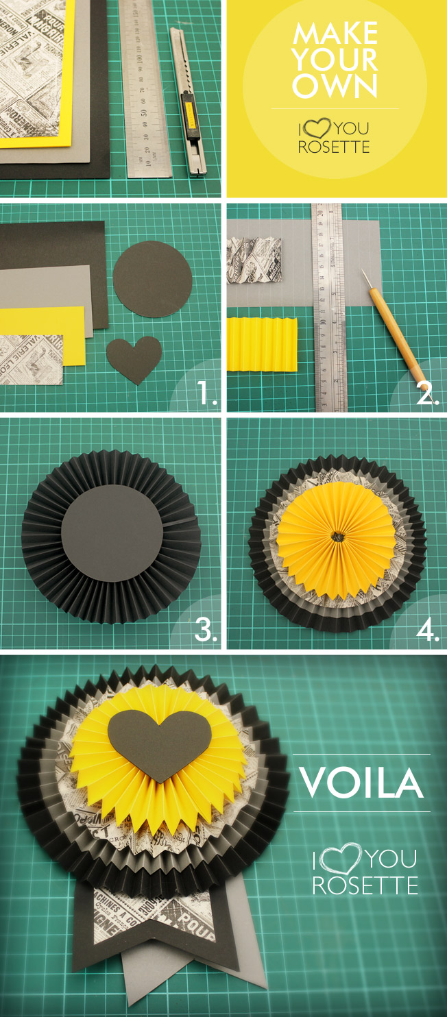 Make your own Rosette (DIY)