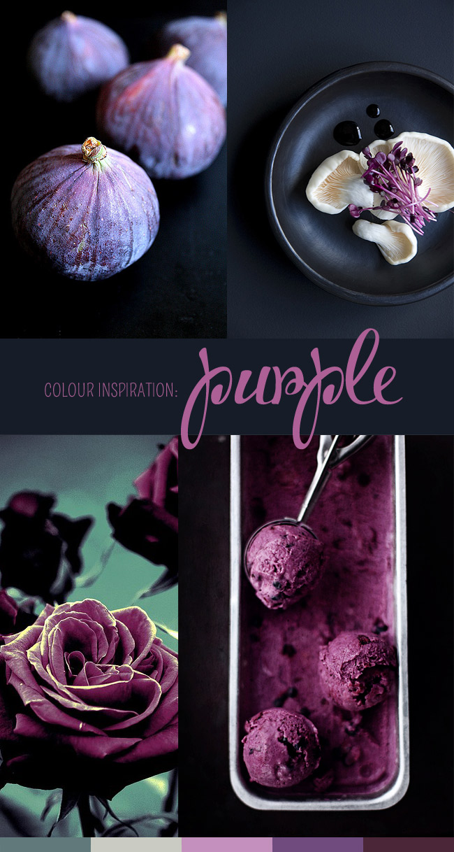 Colour inspiration: Purple