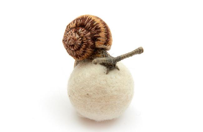 Garden Snail- Claire Moynihan