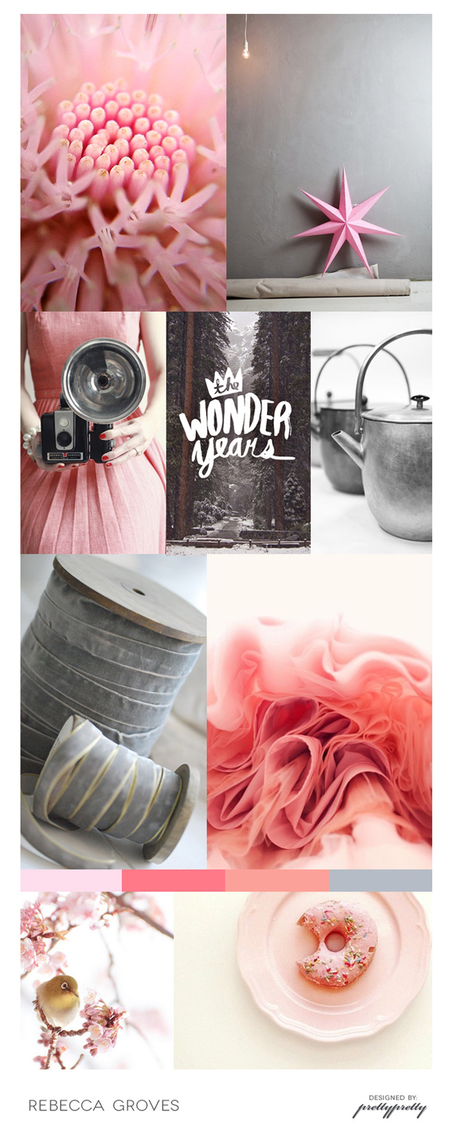 Rebecca Groves - Mood board (Pretty Pretty)