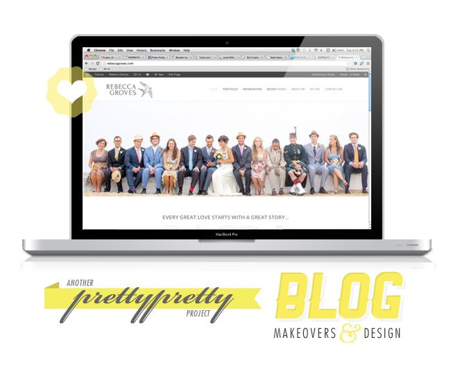 Rebecca Groves - Blog Makeover (Pretty Pretty)
