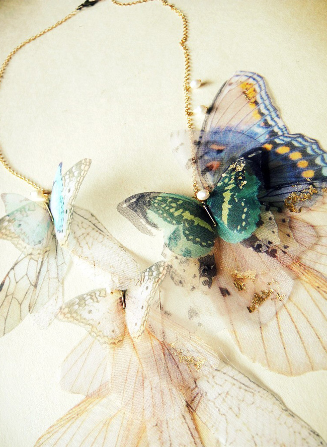 Derya Aksoy Butterfly Necklace