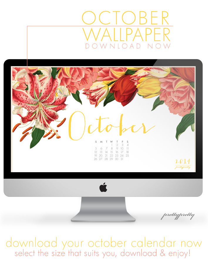 October Wallpaper Calender