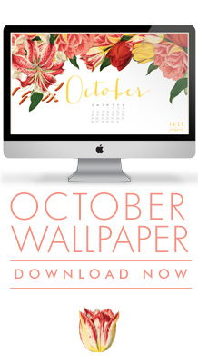 PrettyPretty October Calendar