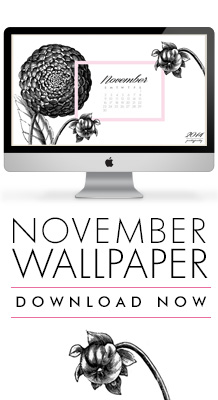 PrettyPretty November Calendar