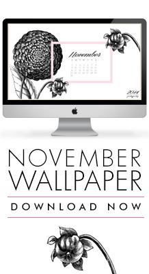 PrettyPretty November Calendar