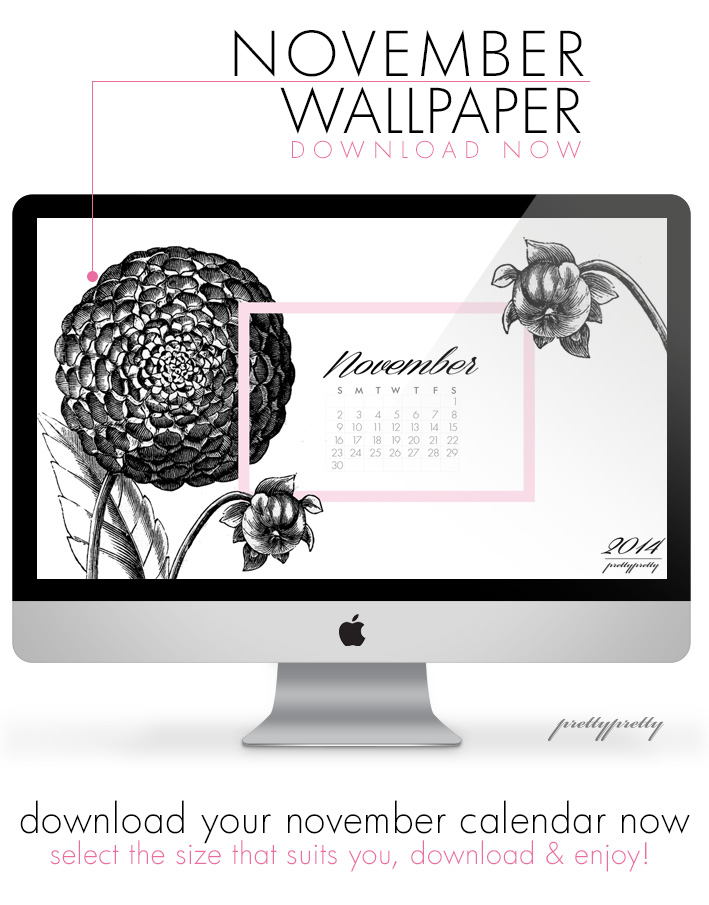 November Wallpaper Calender